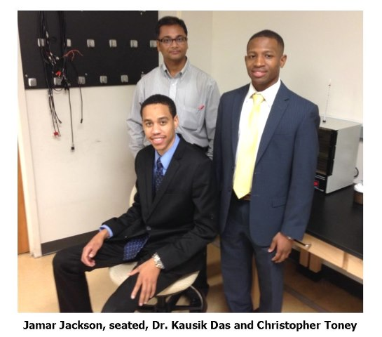 UMES students 2015 Jackson, Das and Toney